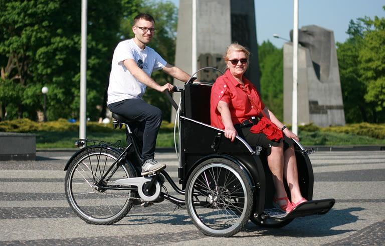 Rowerzyści dla Seniorów