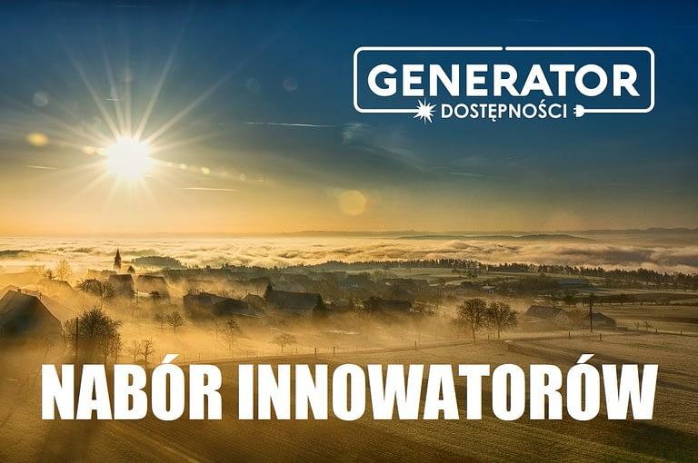 Generator Dostępności: III tura naboru zgłoszeń – ogłoszenie o naborze